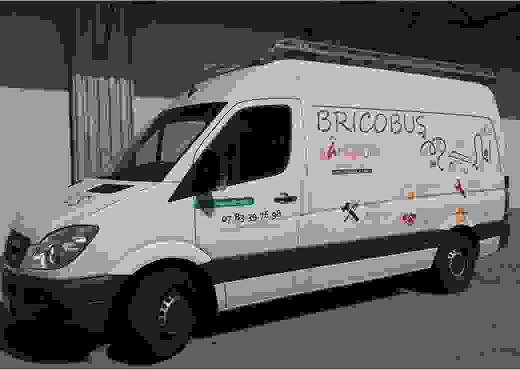 Bricobus accompagne des petits chantiers de rénovation
