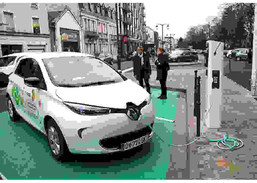 Borne de recharge électrique