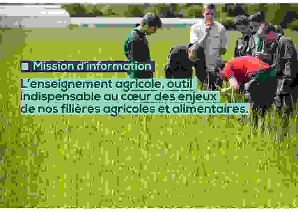 mission sur l'enseignement agricole