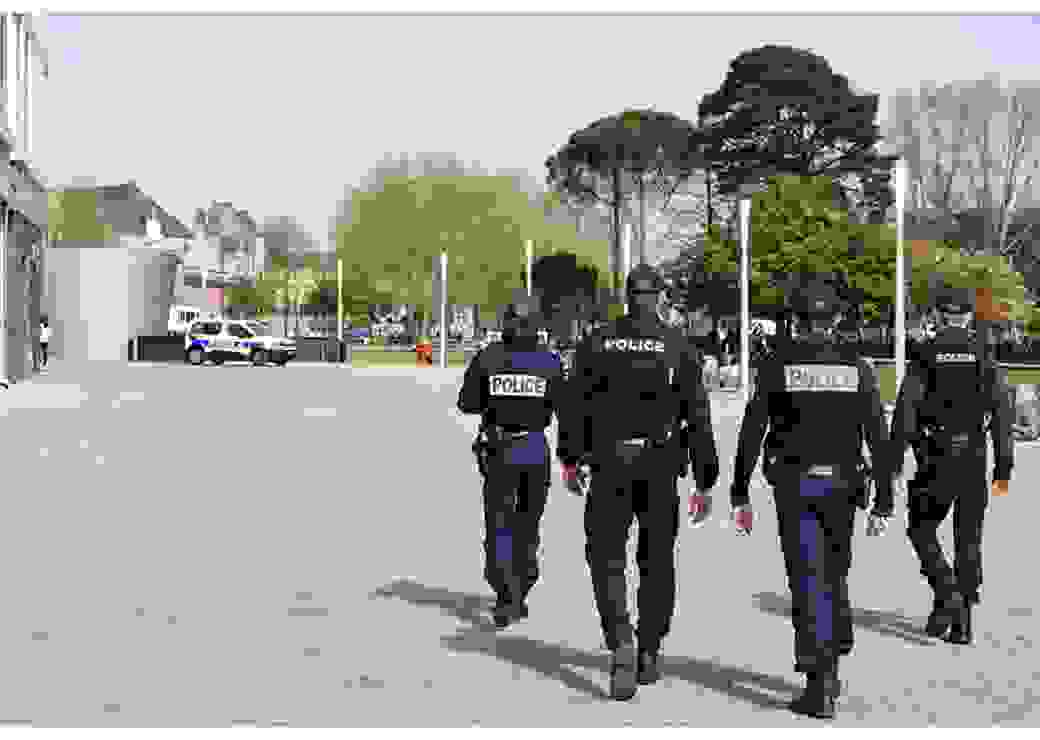 Patrouille police nationale