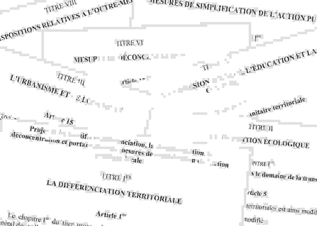 projet de loi 4D de A à Z