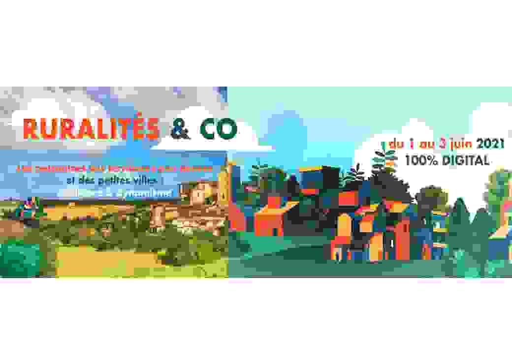 Affiche Ruralités & Co
