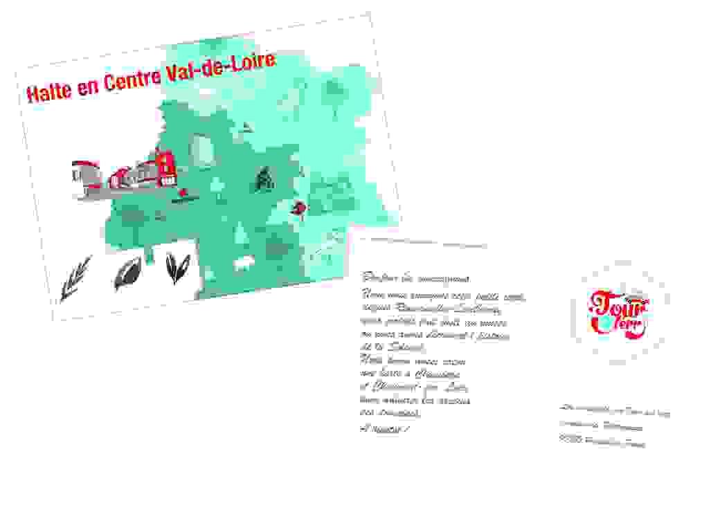 Tour des Terr' CVL carte postale recto