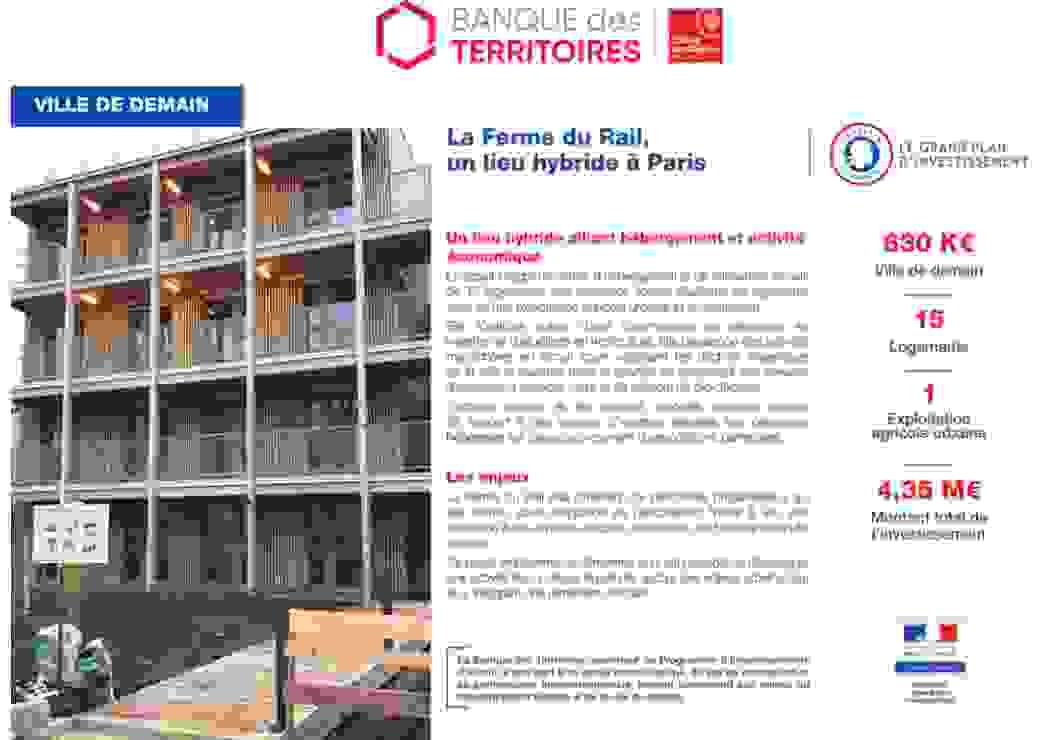 La Ferme du Rail à Paris