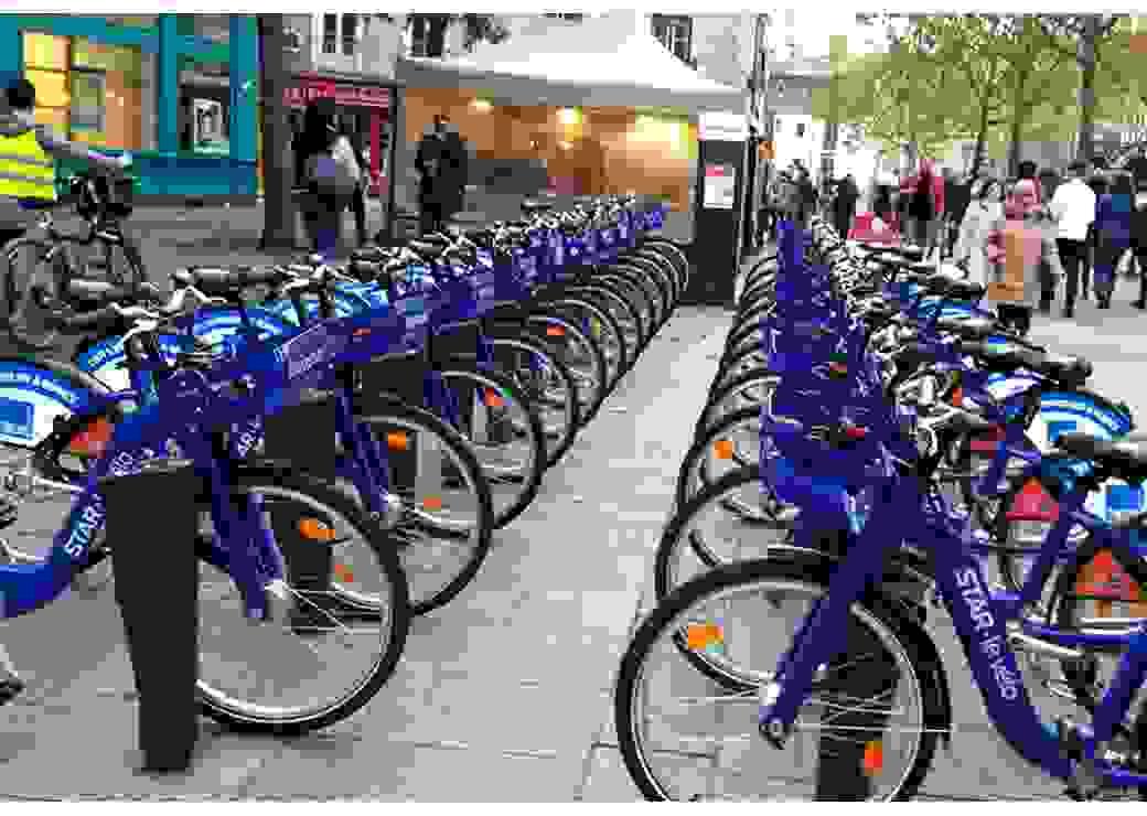 Vélos libre service Rennes