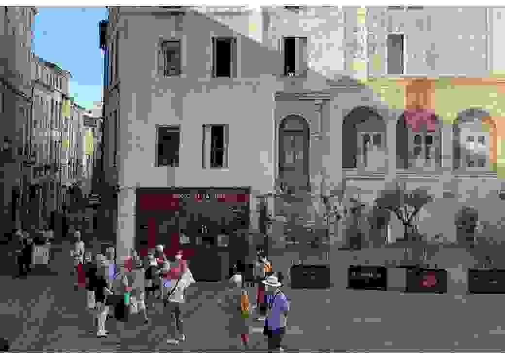 touristes Montpellier