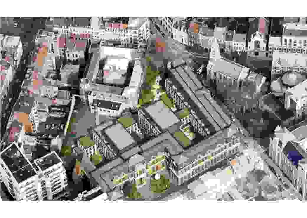 Premier projet de logements lillois lancé dans le cadre de l'OFS Cosmopole Finapar