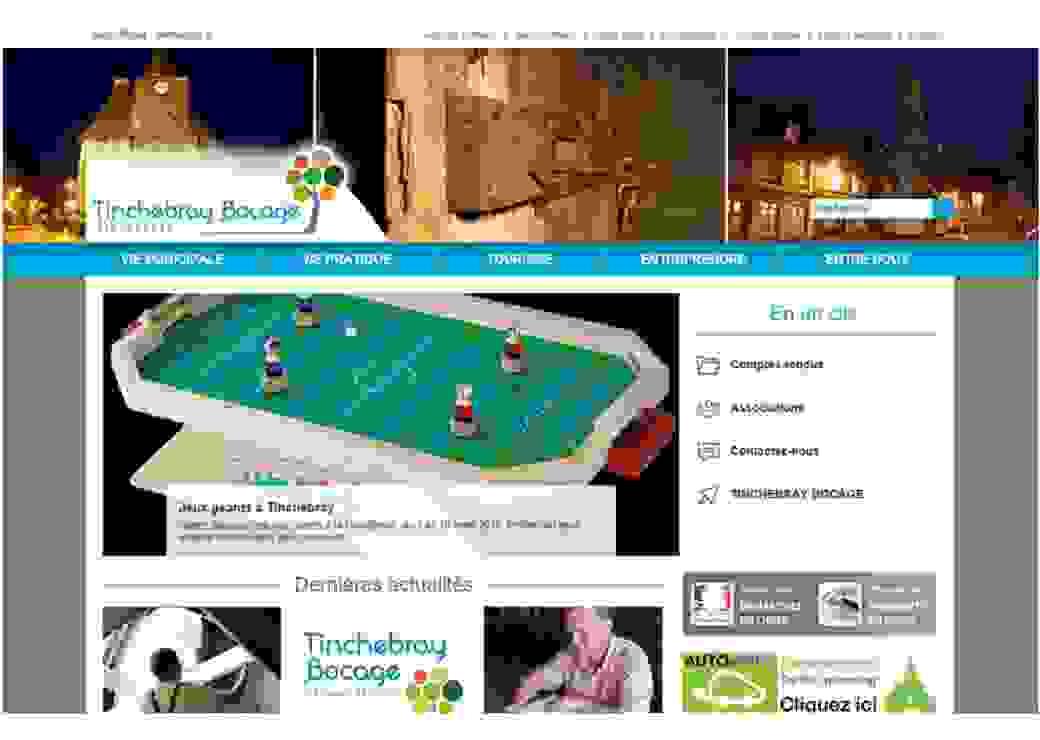 Site officiel de Tinchebray Bocage