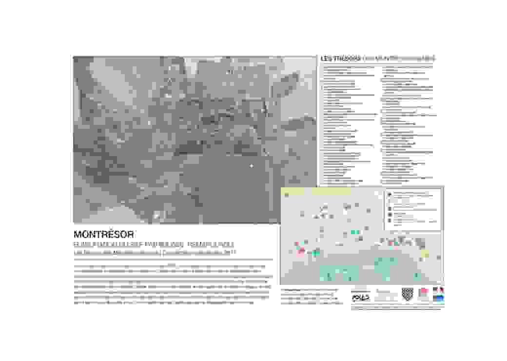Carte : élaboration du SPR de Montrésor