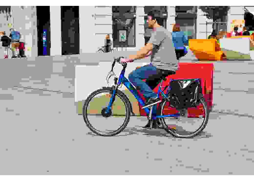 Vélo à assistance électrique de Cap vélo