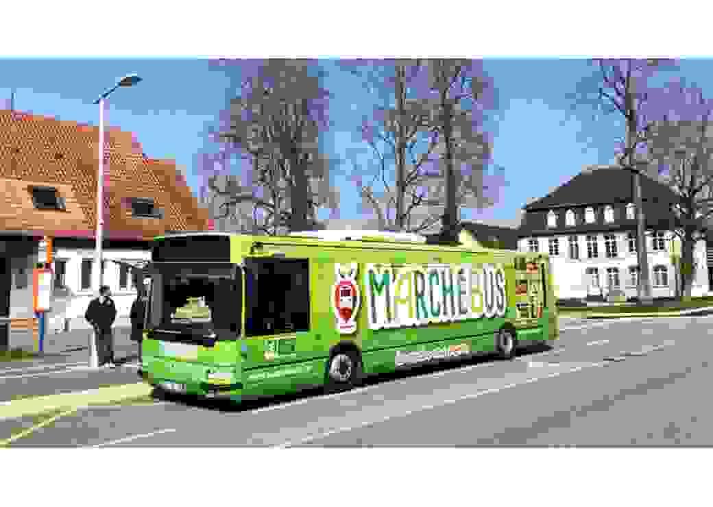 Le bus de l'association