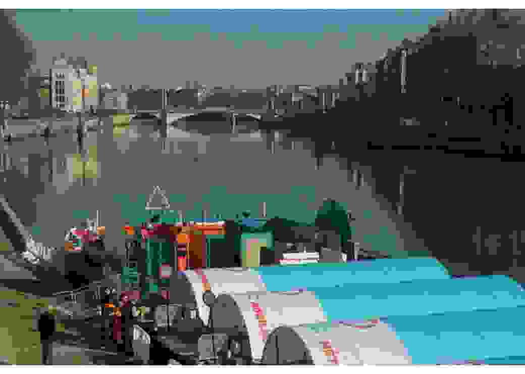 La déchetterie fluviale sur la Saône