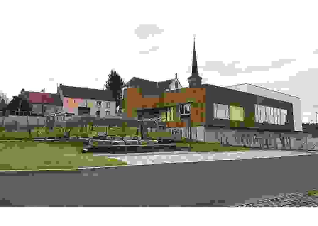 Le nouveau centre socio-culturel d'Holving
