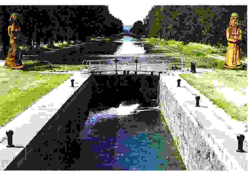 Les géants du canal