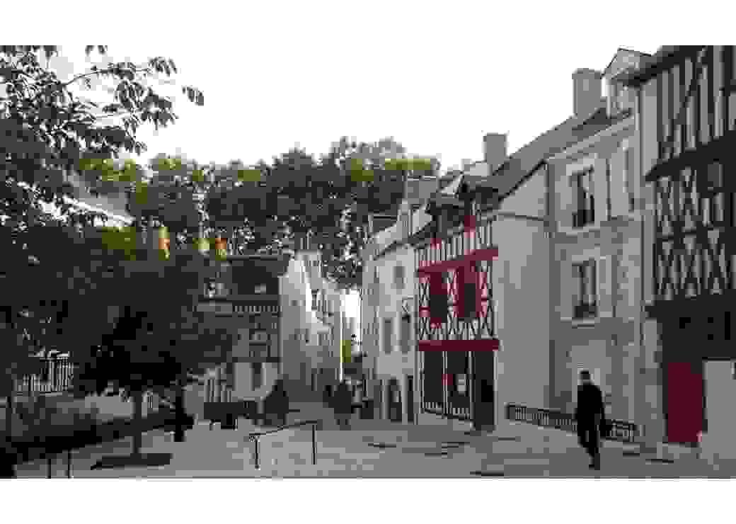 Mise en lumière du centre ancien à Orléans