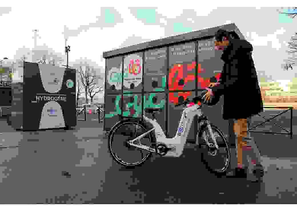Station vélos électriques-hydrogène
