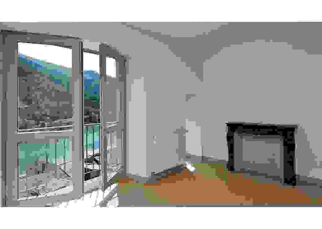 Intérieur d'appartement, Patrimoine historique réhabilité Sisteron