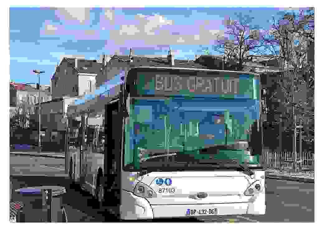 Bus gratuit au Pays d'Aubagne et de l'Etoile