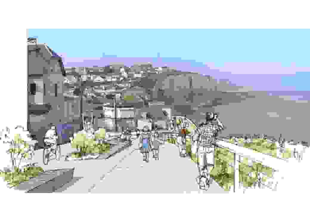 Projet de requalification urbaine commune d'Ault 80