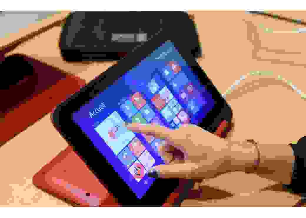 La tablette, véritable cartable numérique de l'élu