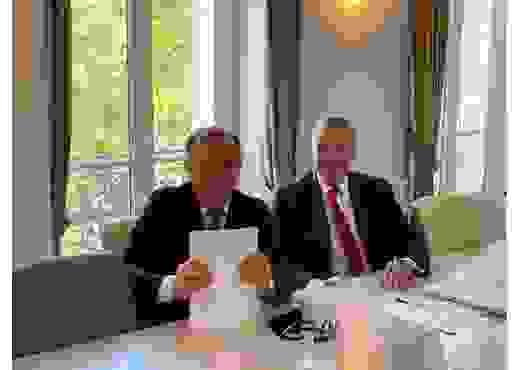 Comité de partenariat à Paris