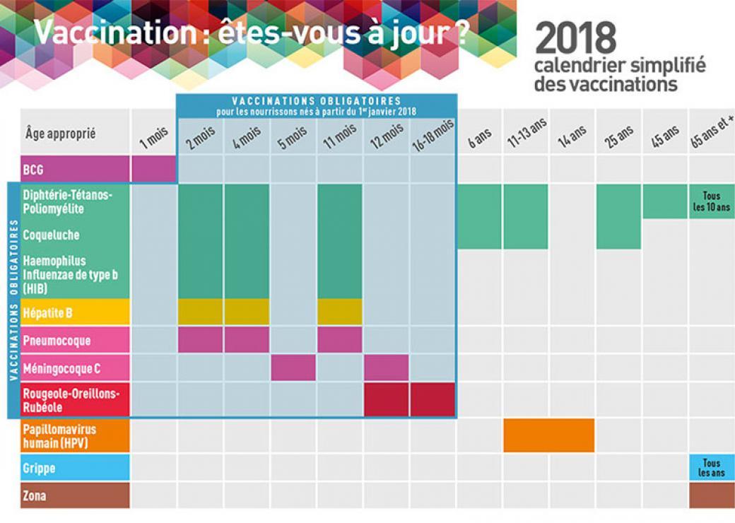 Calendrier Vaccinal 2020.Obligation Vaccinale Les Assistantes Maternelles En