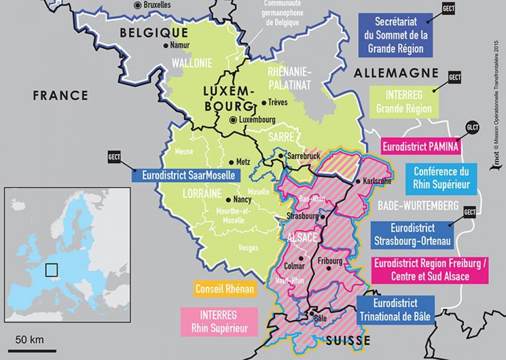Carte Allemagne Pays Frontaliers.Traite D Aix La Chapelle Vers Un Vaste Espace