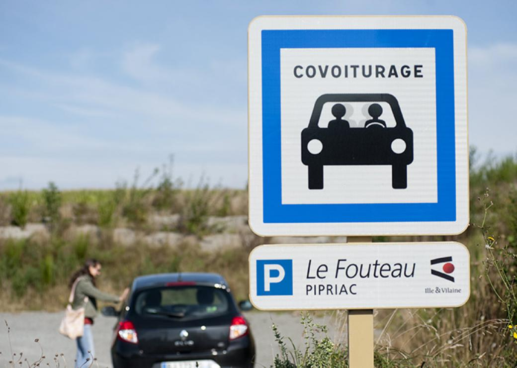 Covoiturage zone rurale