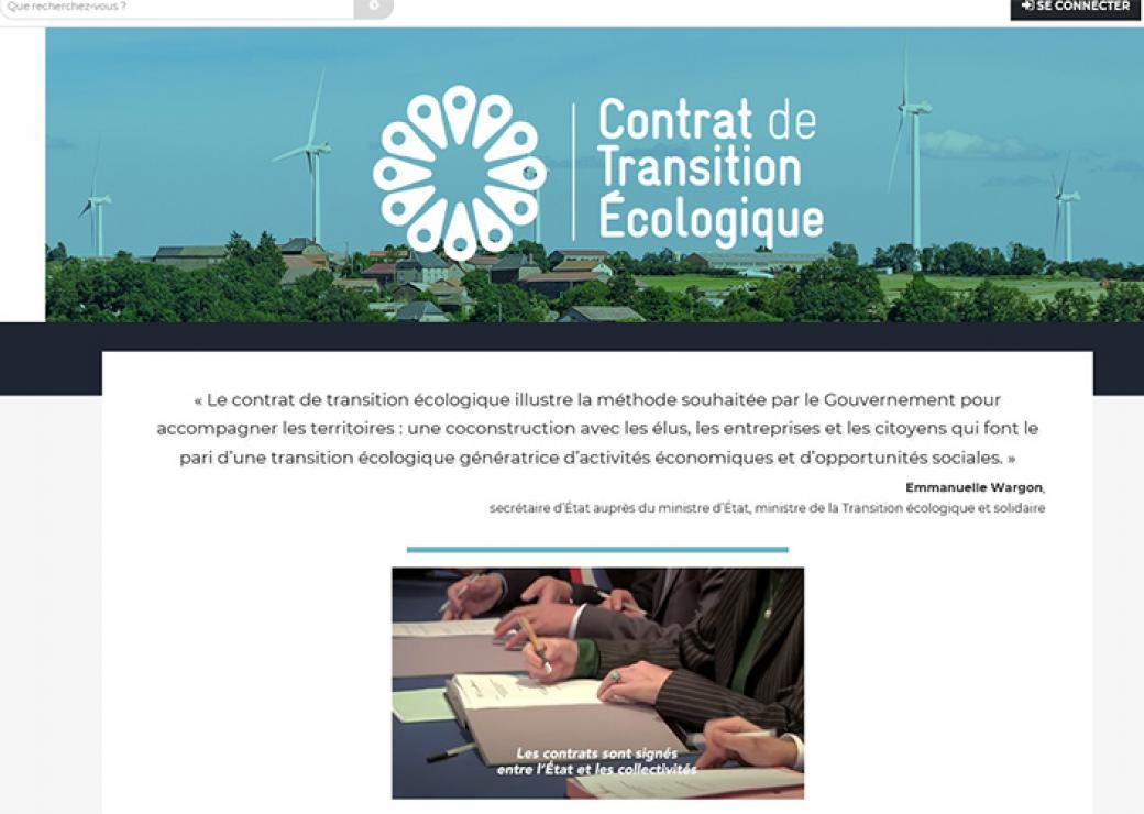 76f0cf2d01e Contrats de transition écologique   lancement d un nouvel appel à  candidatures