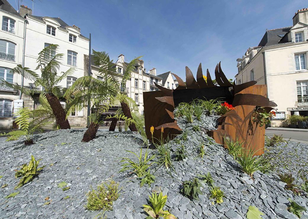 Vannes : un festival de jardins contemporains en cœur de ...