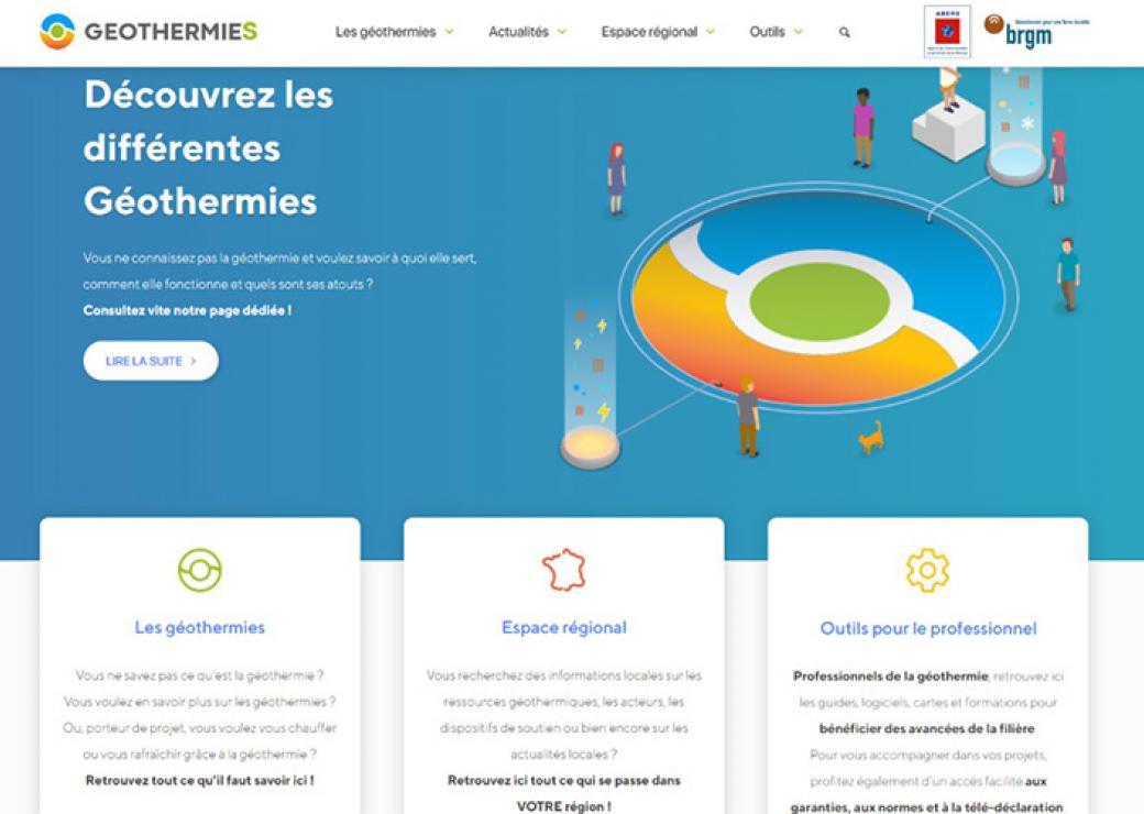 L Ademe Et Le Brgm Lancent Un Site De Reference Sur La Geothermie