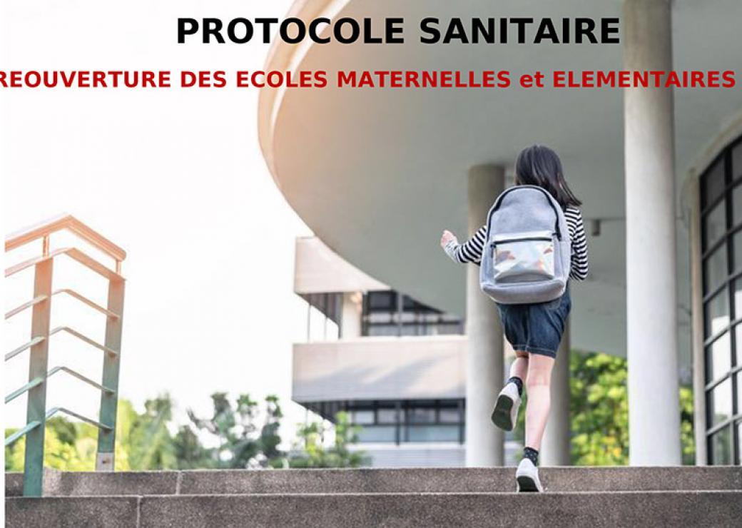 Le projet de protocole sanitaire pour la réouverture des écoles ...