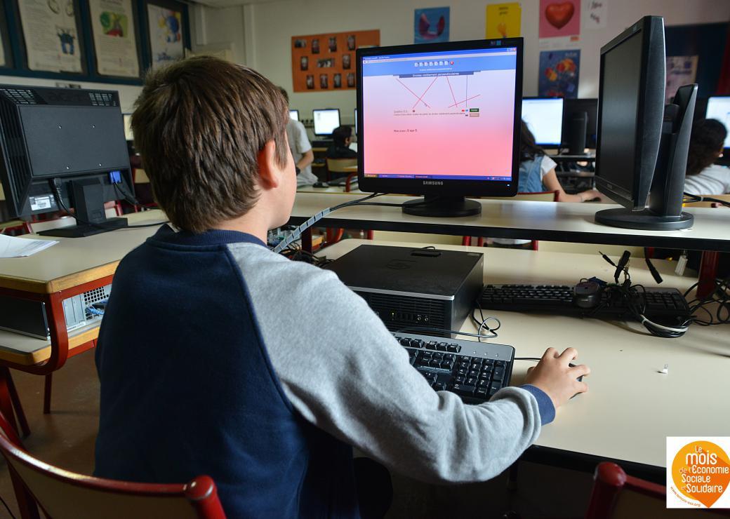 Illustration éducation numérique