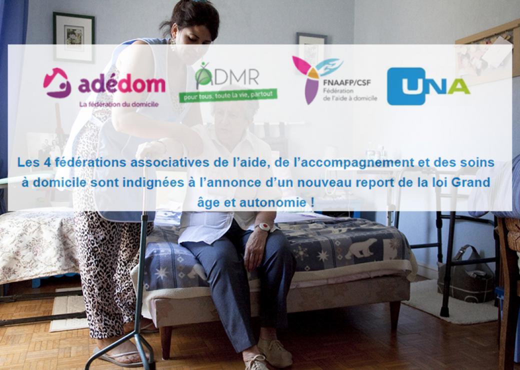 Le report sine die du projet de loi Grand âge indigne le secteur de l'aide à domicile