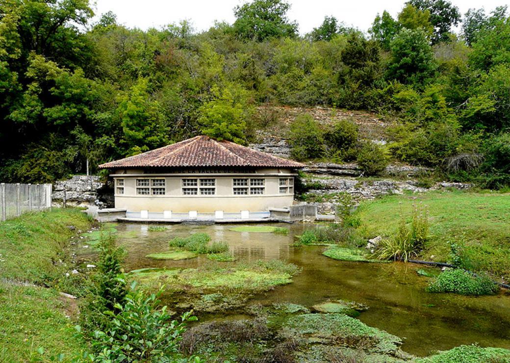 Captage d'eau en Dordogne
