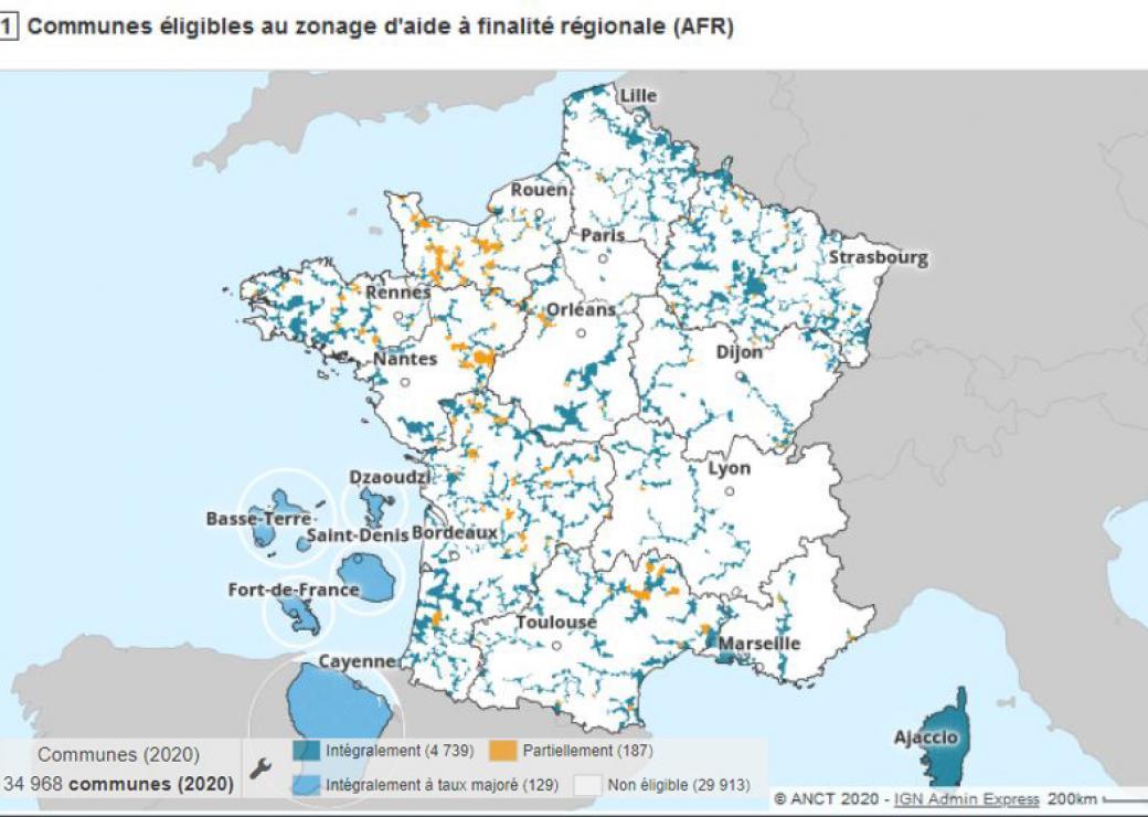 Aides à finalité régionale