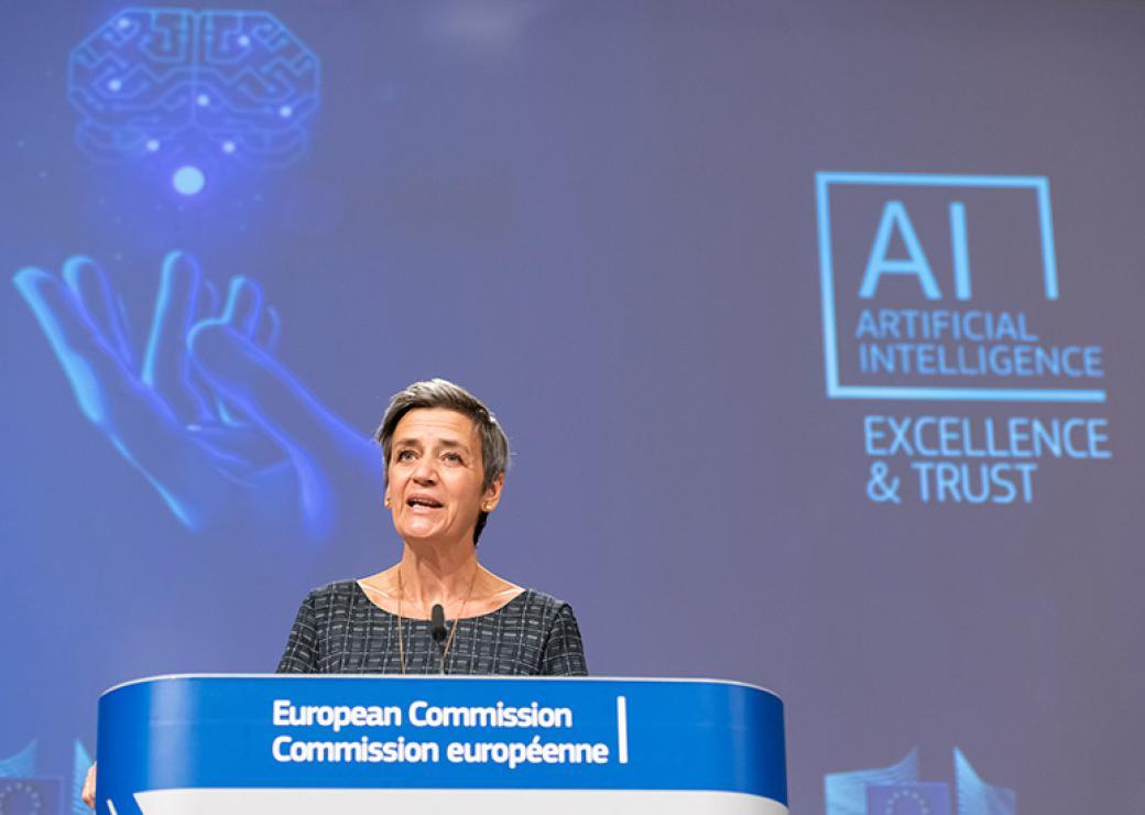 L'Europe veut réglementer l'intelligence artificielle en fonction des risques