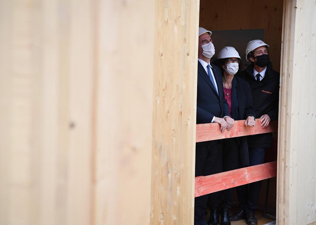 1 milliard d'euros redéployés pour soutenir la construction... et la ville durable