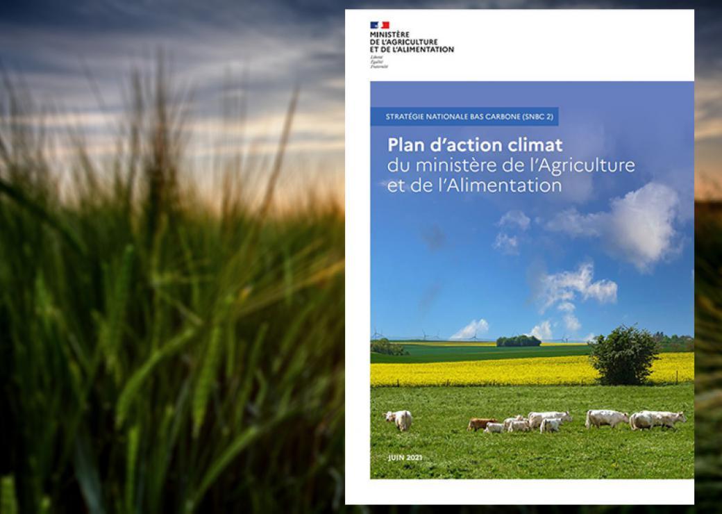 Stratégie nationale bas carbone : le ministère de l'Agriculture et de l'Alimentation présente son plan d'actions pour réduire les émissions de gaz à effet de serre