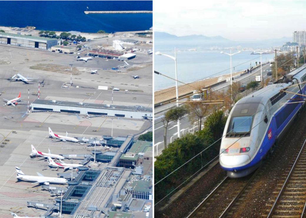 Le train capable de remplacer tous les vols intérieurs, selon une étude du Réseau Action Climat