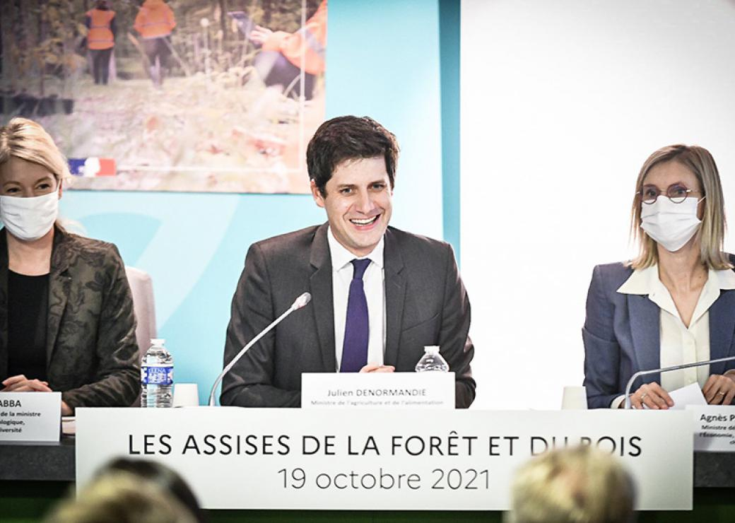 Le gouvernement lance les Assises de la forêt et du bois