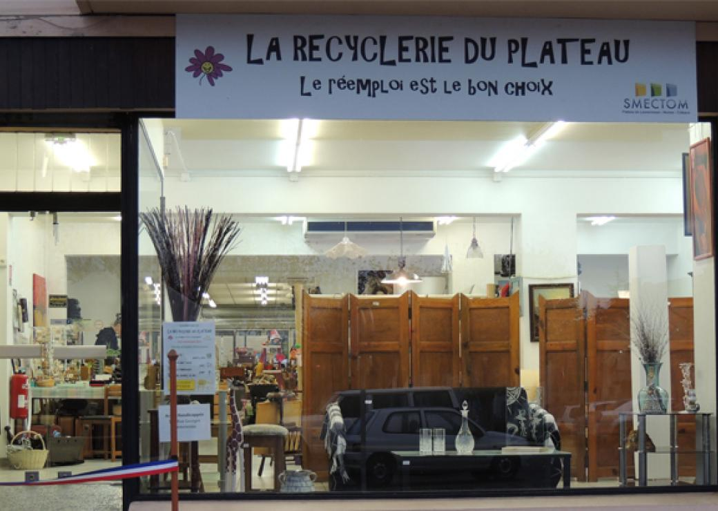 Boutique de la recyclerie