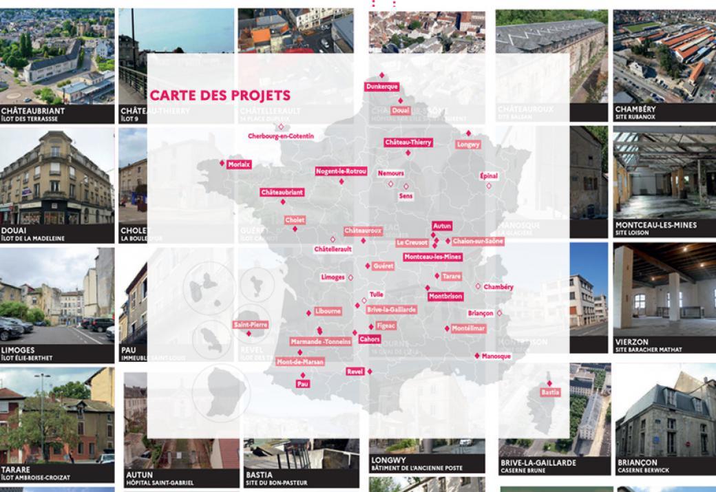 Réinventons nos cœurs de ville : onze villes ont déjà désigné leurs groupements lauréats