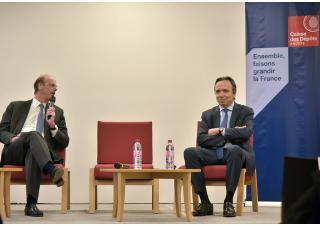 Conférence de presse caisse des dépôts retraite numérique