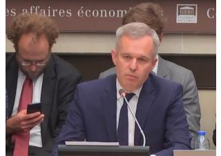 De Rugy projet de loi énergie climat devant la commission des affaires économiques de l'Assemblée Nationale