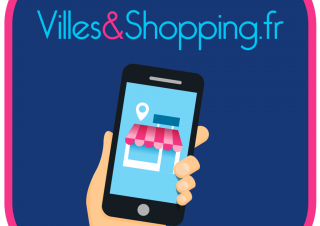Logo Villes&shopping